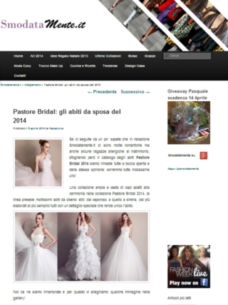 <strong>PASTORE BRIDAL</strong><br />